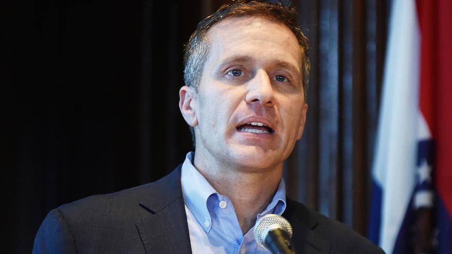 Rpt: Missouri governor accused of unwanted sexual encounter