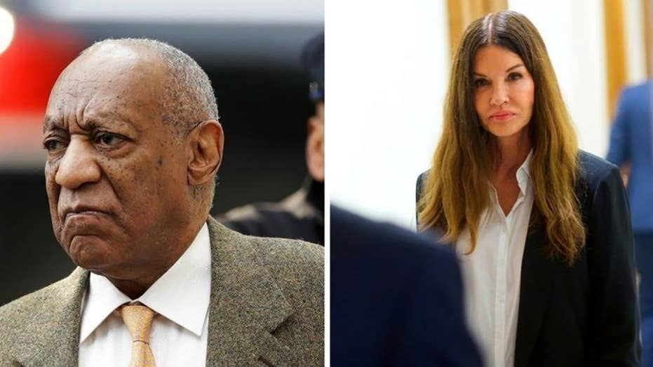Supermodel Janice Dickinson testifies against Bill Cosby
