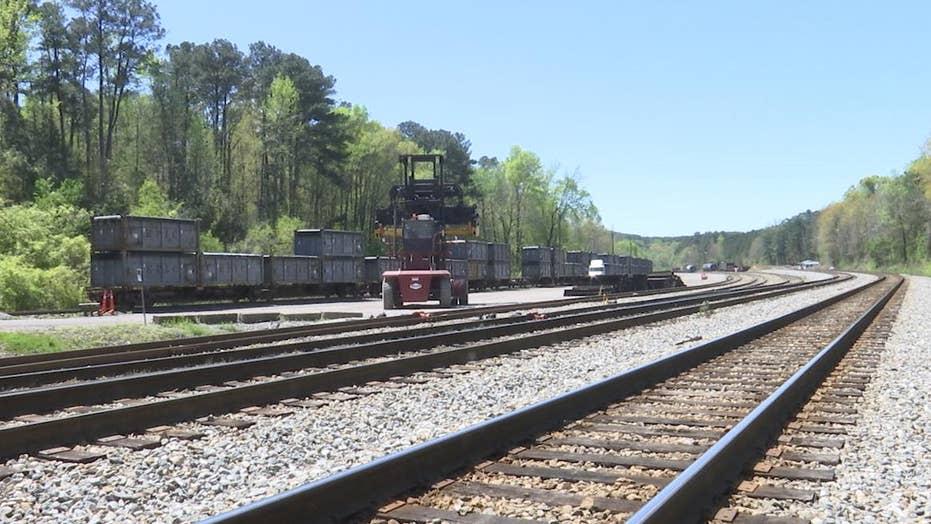 Poop train rots in rural Alabama