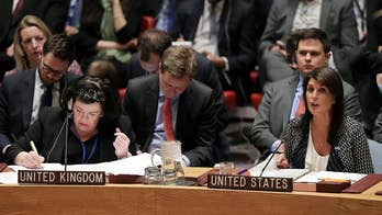 Only China and Bolivia joined Moscow voting in favor of the draft resolution; Laura Ingle reports from the United Nations.