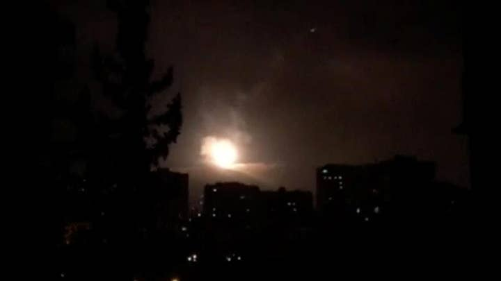 Three targets struck by joint airstrikes in Syria