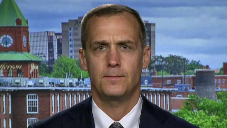 Trump tweets 'mission accomplished' after joining forces with the U.K. and France to launch strikes in Syria; former Trump campaign manager Corey Lewandowski reacts.