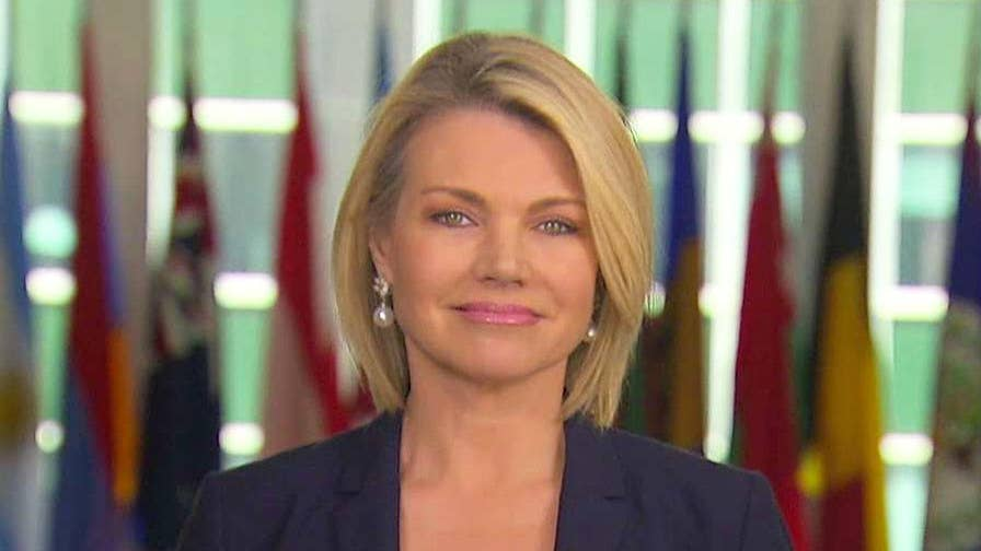 State Department acting under secretary for public diplomacy Heather Nauert discusses the U.S. mission in Syria and what steps the Syrian regime could take to begin to rebuild.