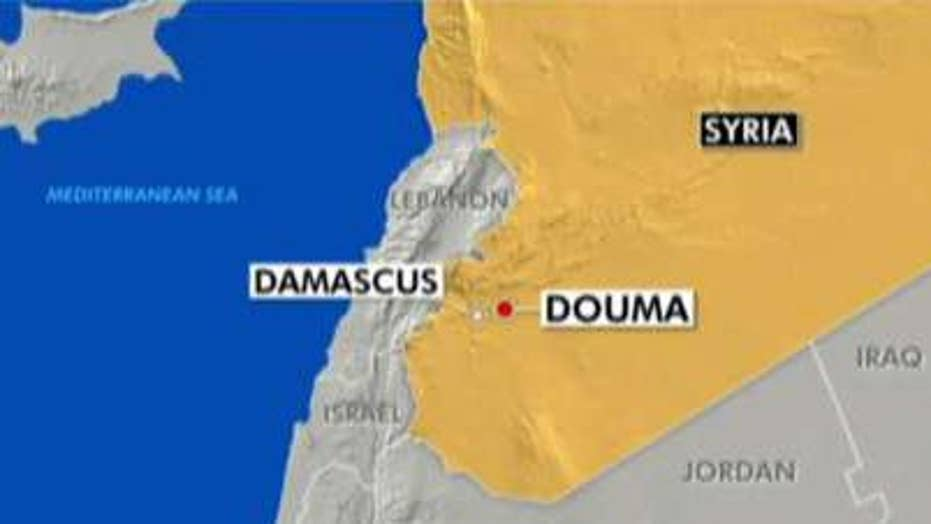 US military strikes Syria's chemical weapons capabilities
