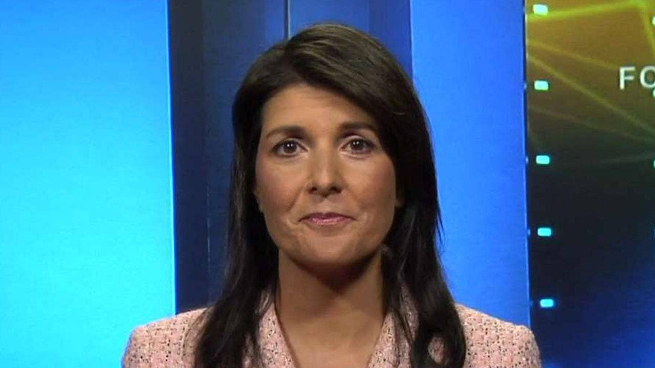 Haley warns Assad: Trump 'watching,' US work in Syria 'not done'