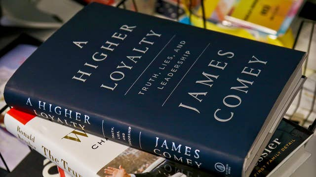 James Comey defends his book on Twitter