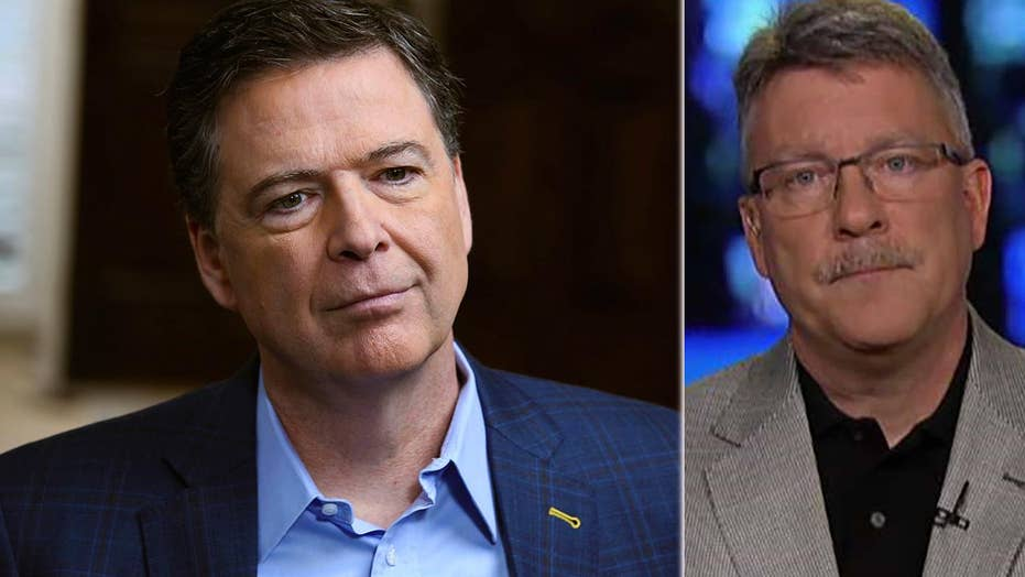 Former FBI official concerned about impact of Comey's book