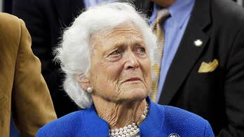 Barbara Bush will no longer seek treatment for her failing health after a recent series of hospitalizations; Casey Stegall reports from Texas.