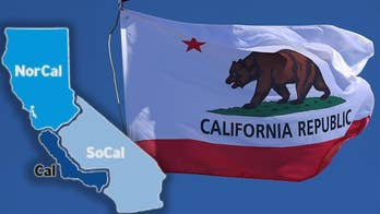 California Dems Dreamin'? Long-shot bid to split up state would boost party in Senate