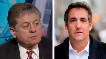 Fox's Sean Hannity identified as President Trump's personal attorney Michael Cohen's third client; insight from Fox News senior judicial analyst Judge Andrew Napolitano.