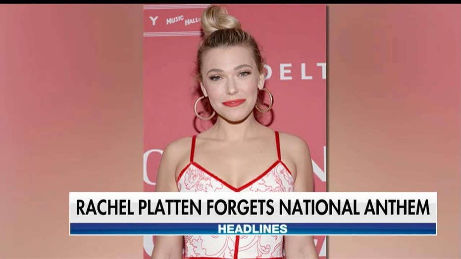 Singer Rachel Platten Forgets National Anthem Lyrics