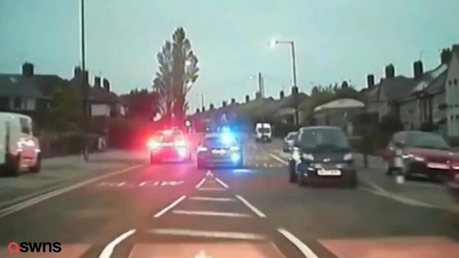 Watch: Driver escapes police in epic car chase