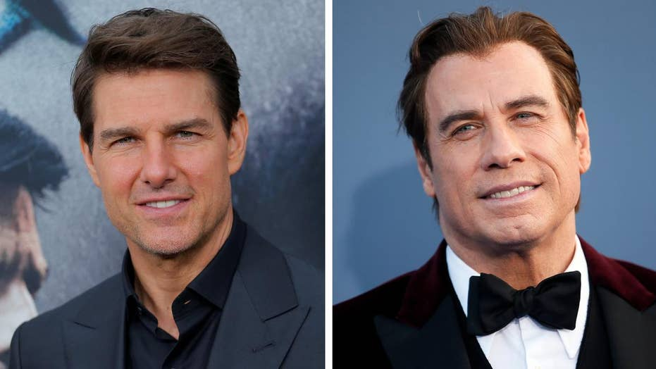 Tom Cruise and John Travolta allegedly Scientology rivals