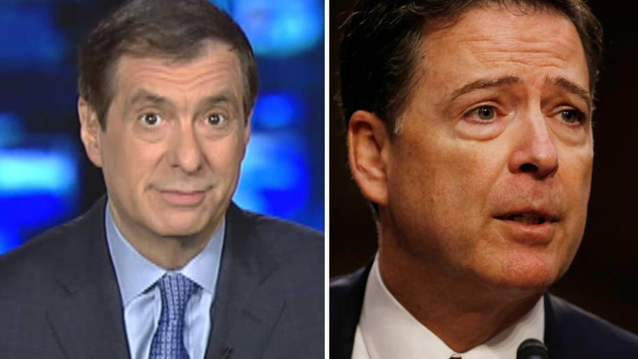 Kurtz: Comey's transformation from prosecutor to partisan
