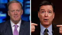Former White House press secretary Sean Spicer challenges James Comey's account of Trump Tower anti-Trump dossier briefing; reaction from Dr. Sebastian Gorka on 'Hannity.'