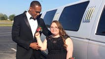 From the football field to the dance floor, NFL's Don Jones, a defensive back for the San Francisco 49ers, took a fan with Down syndrome to her high school prom. Lindsey Preston and Jones snapped photos and danced the night away.