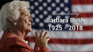 Barbara Bush: 1925 - 2018. A look back at the incredible and inspirational life of the former First Lady of the United States.