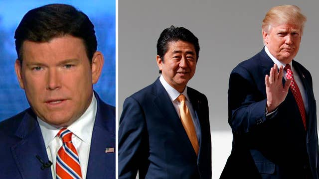 Bret Baier on what's at stake at Trump-Abe summit