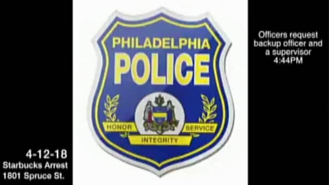 Audio released from PA Starbucks officers' radios