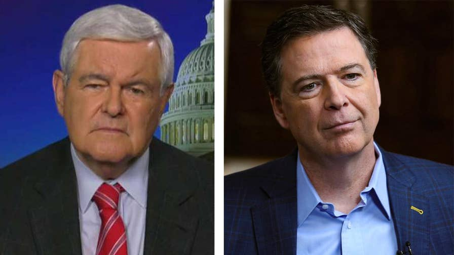Former speaker of the House joins 'Hannity' to discuss the fallout from the fired FBI director's tell-all book and media tour.