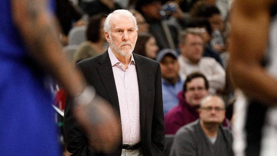 San Antonio Spurs head coach Gregg Popovich speaks out against Donald Trump and the usefulness of the second amendment. Fans spoke out against the coach and his opinions on gun control.