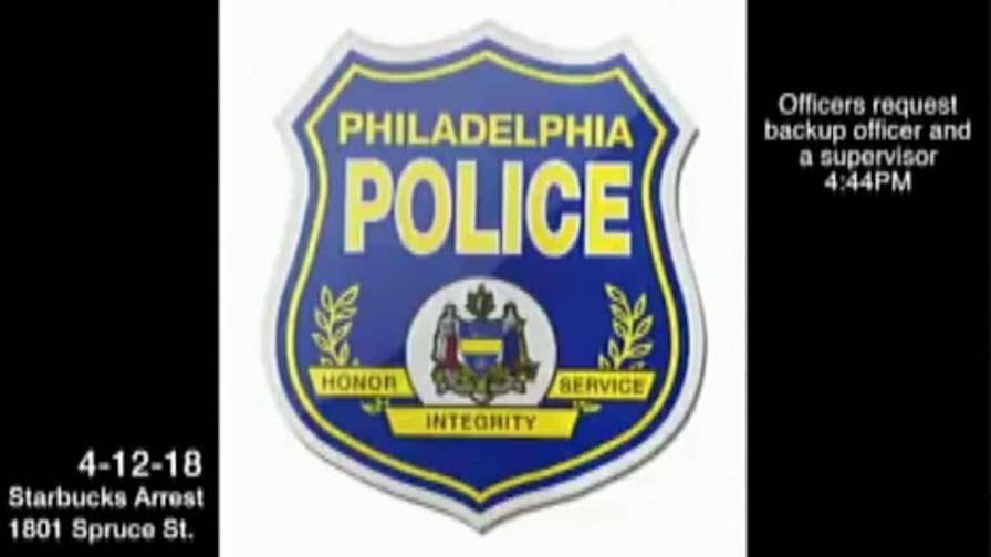 911 call and radio chatter surrounding the arrest of two men at a Philadelphia Starbucks.