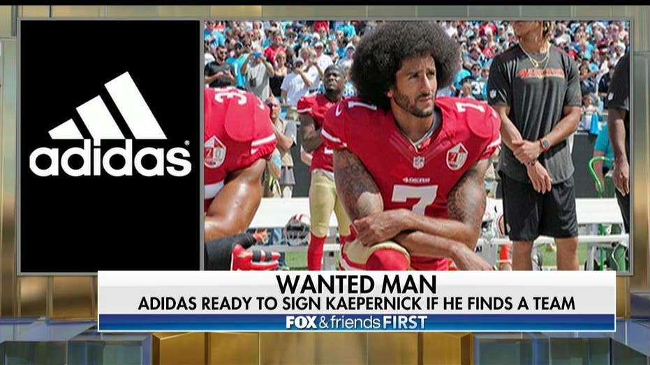 Adidas Interested in Signing Kaepernick If He Signs With NFL Team First