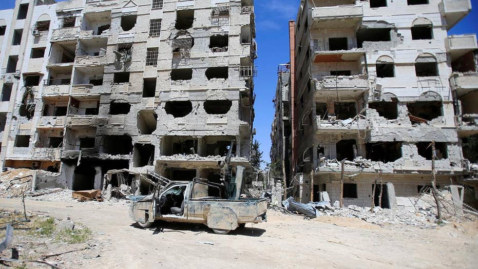 Chemical weapons watchdog team enters city of Douma