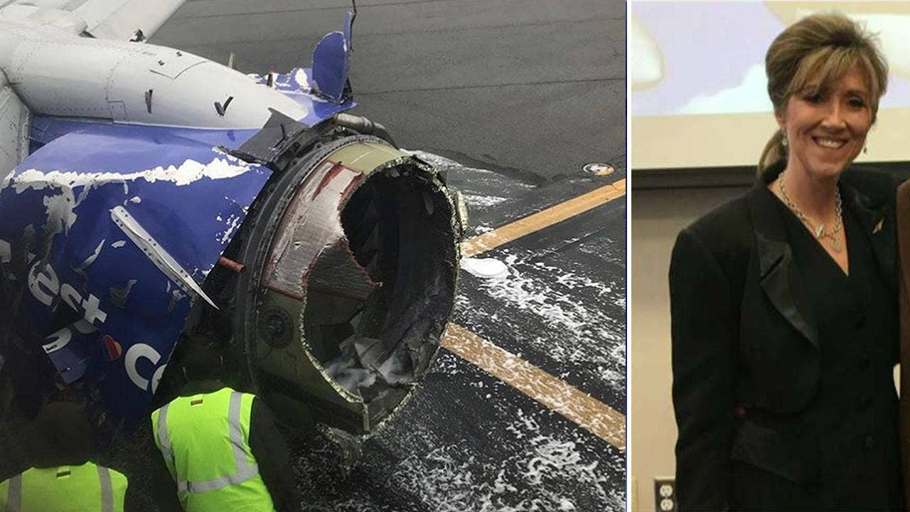 physical evidence southwest airlines A national transportation safety board investigator examines damage to the engine of southwest airlines flight 1380 that made an emergency landing at philadelphia international airport in.
