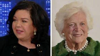 British Amb. to the UN Karen Pierce on meeting Barbara Bush