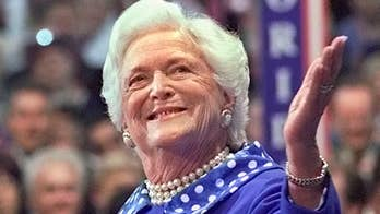 Former first lady being memorialized across the country. Adam Housley reports from Houston, Texas.
