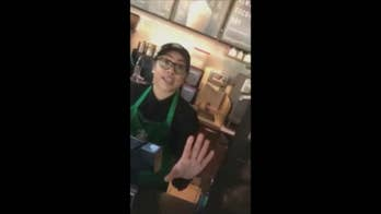 A video shot in January has resurfaced online accusing a Starbucks store manager in California of racial discrimination. Brandon Ward asked to use the locked store bathroom but claims he was denied because he was black. The video shows Ward confronting a white patron and the store manager.