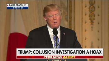 Trump Responds to Russian Collusion Question