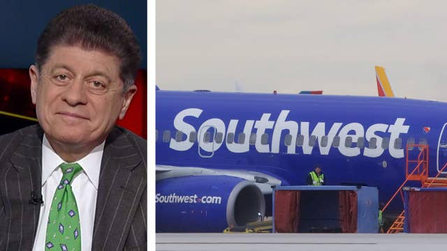 Napolitano on the legal implications of Southwest explosion