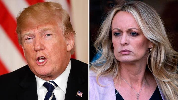 Trump dismisses sketch released by Stormy Daniels