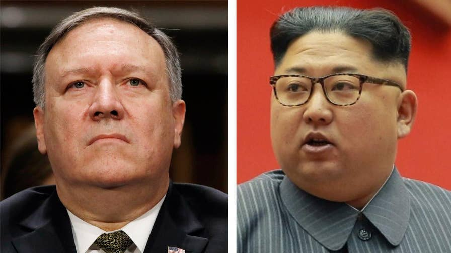 The Washington Post reports the CIA director met with the North Korean leader over Easter Weekend; chief White House correspondent John Roberts reports from West Palm Beach, Florida.