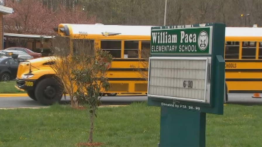 Seven students at William Paca Elementary School in Prince George's County reportedly cut their wrists using blades from pencil sharpeners.