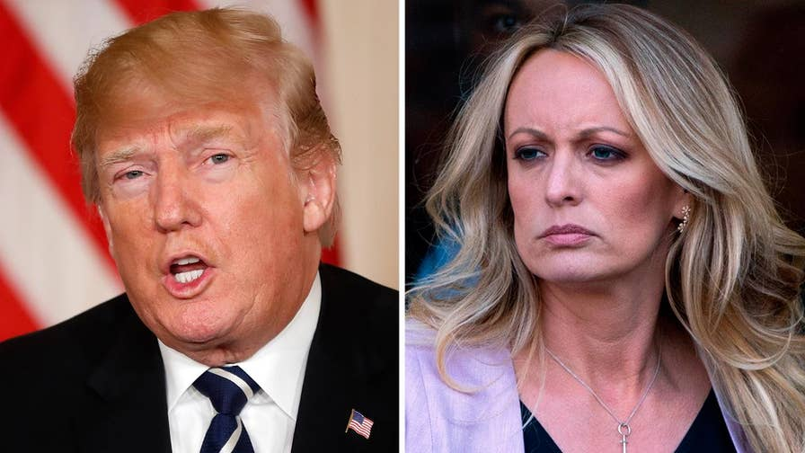 Stormy Daniels says man threatened her to stay quiet about alleged affair with President Trump. Laura Ingle has the latest from New York.