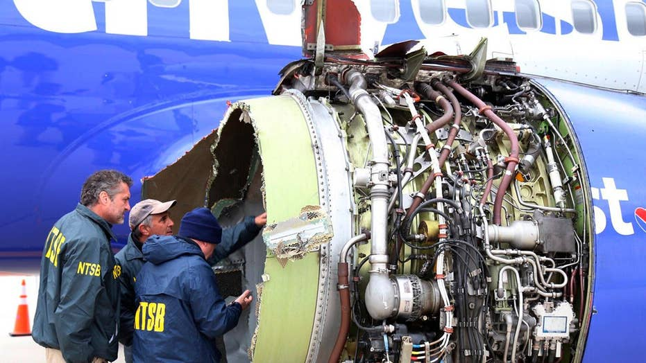 Southwest Airline jet blows engine, makes emergency landing