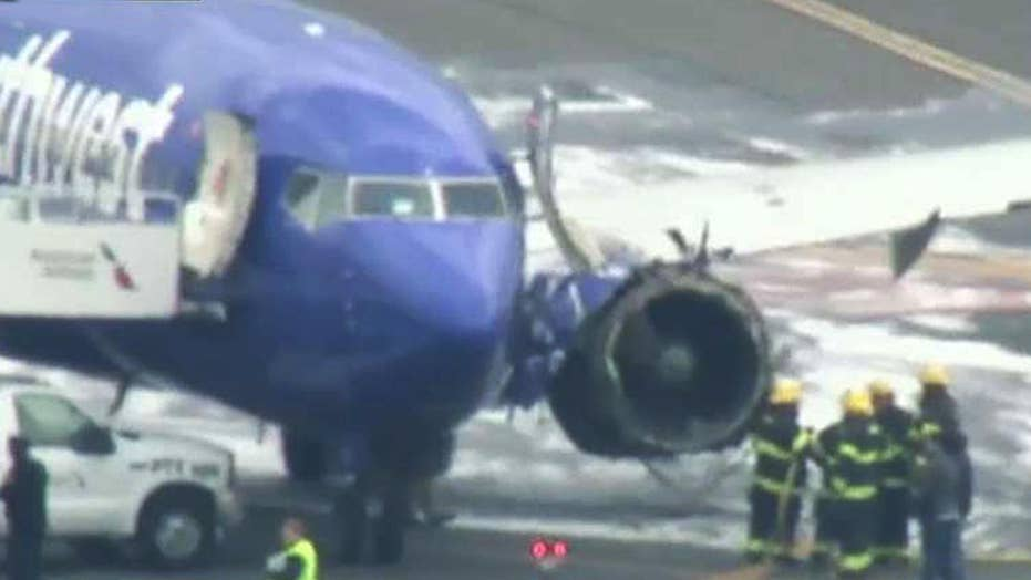Southwest Airlines engine explodes mid-air