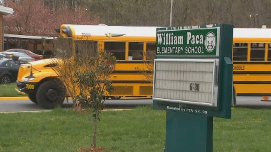Elementary students cut their wrists at school in Maryland