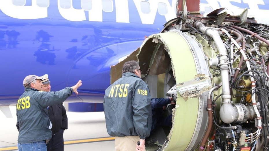NTSB investigating Southwest fatal engine explosion
