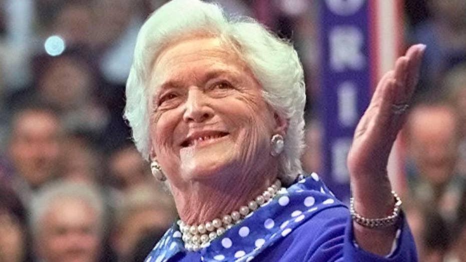America bids farewell to Barbara Bush