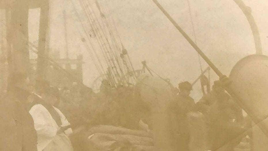 Rare Titanic photo of burial at sea hits auction block