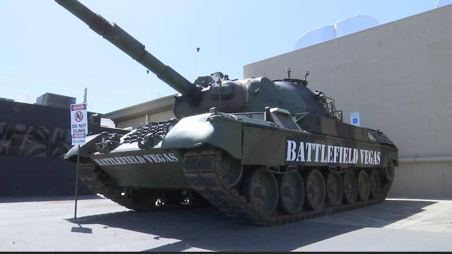 Feel like a soldier at Vegas war 'theme park'