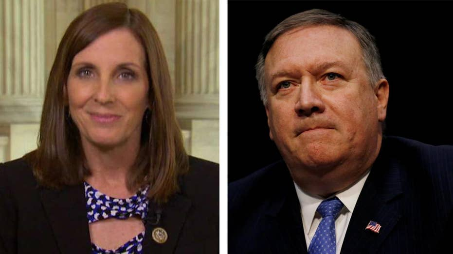 Rep. McSally: Pompeo's confirmation needs to go through
