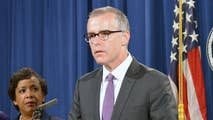 The Inspector General has issued a 'criminal referral' for fired FBI Deputy Director Andrew McCabe; reaction from 'Your World' panel.