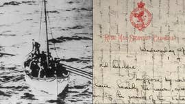 Two extremely rare letters written by a passenger on Titanic rescue ship RMS Carpathia are up for auction in the U.K. this weekend.