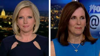 Rep. Martha McSally, the first female fighter pilot to fly in combat, reacts on 'Fox News @ Night with Shannon Bream' after a Southwest pilot lands a plane after an engine explosion.