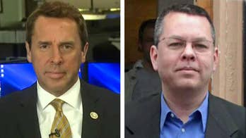 American pastor Andrew Brunson is facing up to 35 years in a Turkish prison if convicted of espionage-related crimes; Rep. Mark Walker speaks out on 'Fox News @ Night.'